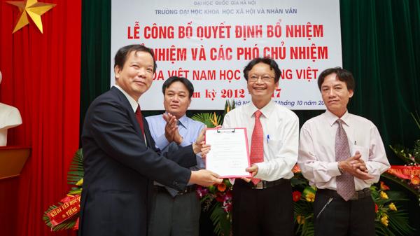 Công bố quyết định bổ nhiệm BCN Khoa