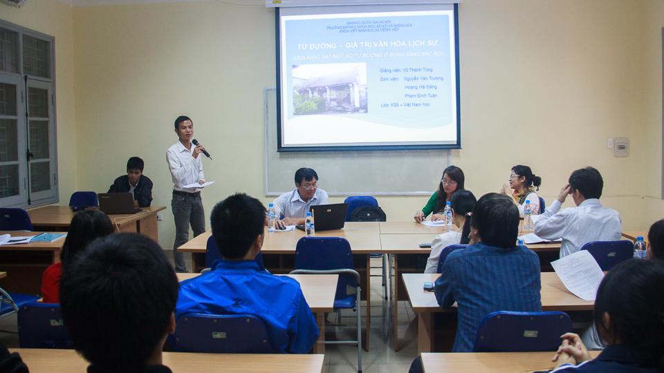 Hội nghị NCKH sinh viên 2013