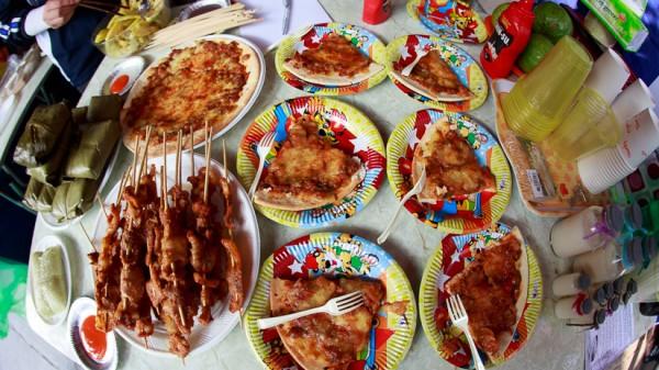 Các món ăn của K58 Việt Nam học.