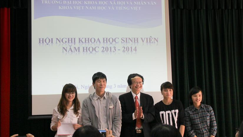 Hội nghị khoa học sinh viên năm 2014