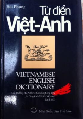 Trang bìa Từ điển Việt-Anh