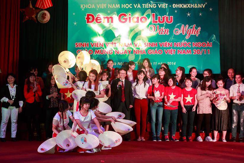 Đêm giao lưu văn nghệ chào mừng Ngày Nhà giáo Việt Nam