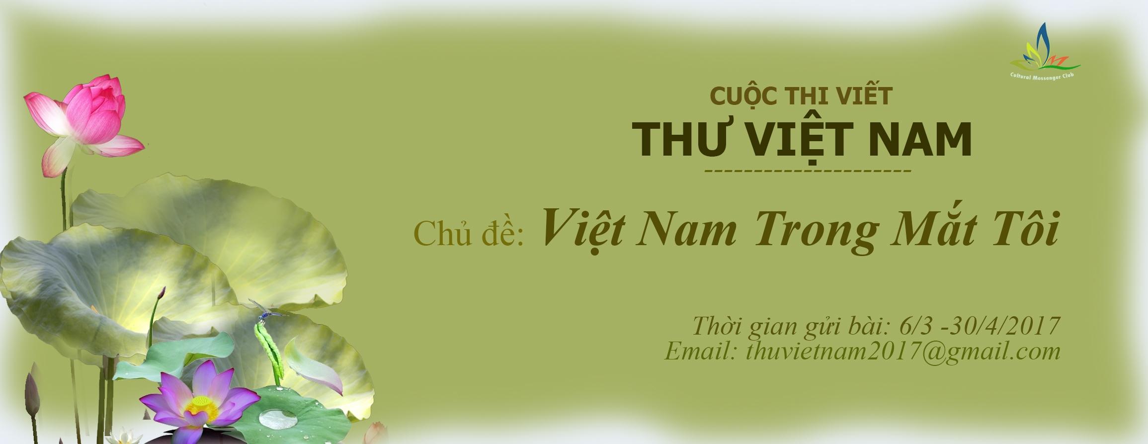 Phát động cuộc thi viết Thư Việt Nam lần thứ nhất (2017)