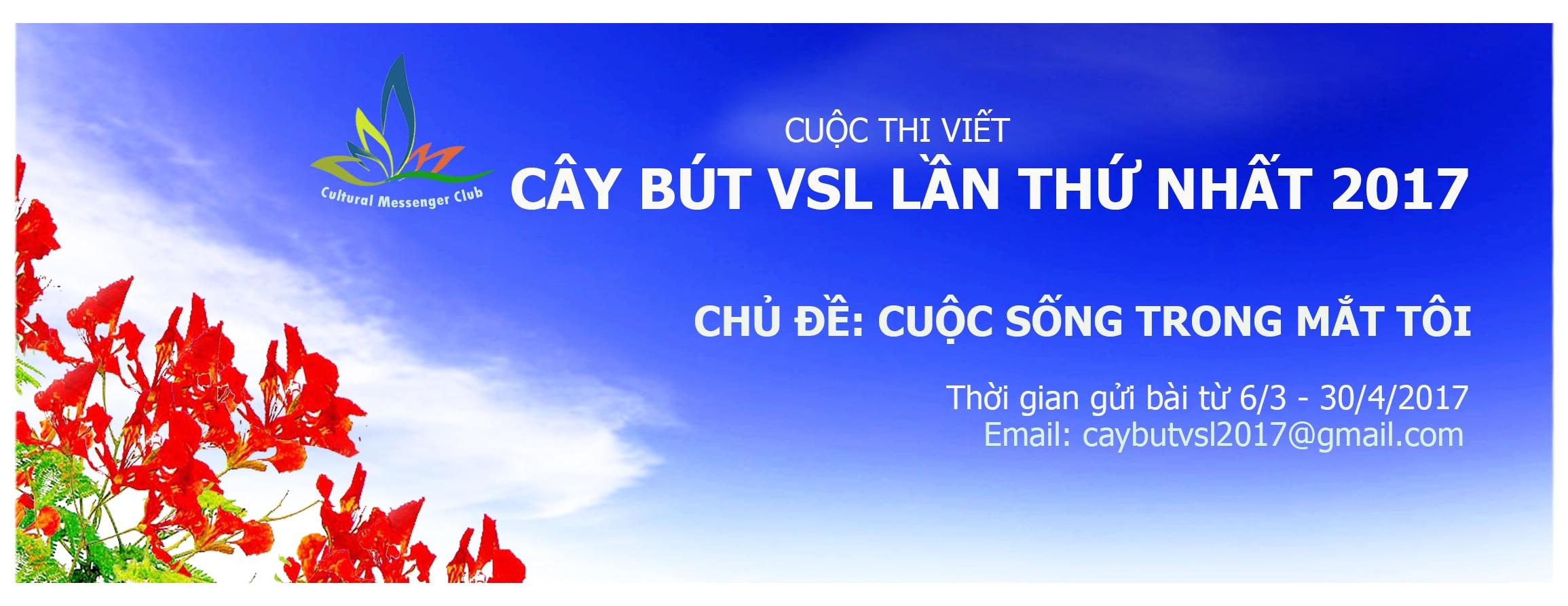Phát động cuộc thi viết Cây bút VSL lần thứ nhất (2017)