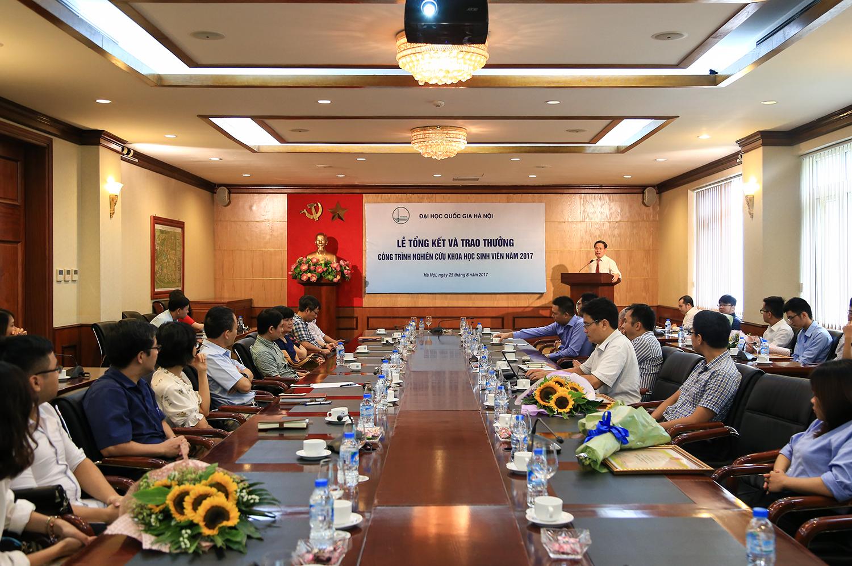 Sinh viên VSL đạt giải nhất NCKH cấp Đại học Quốc gia Hà Nội