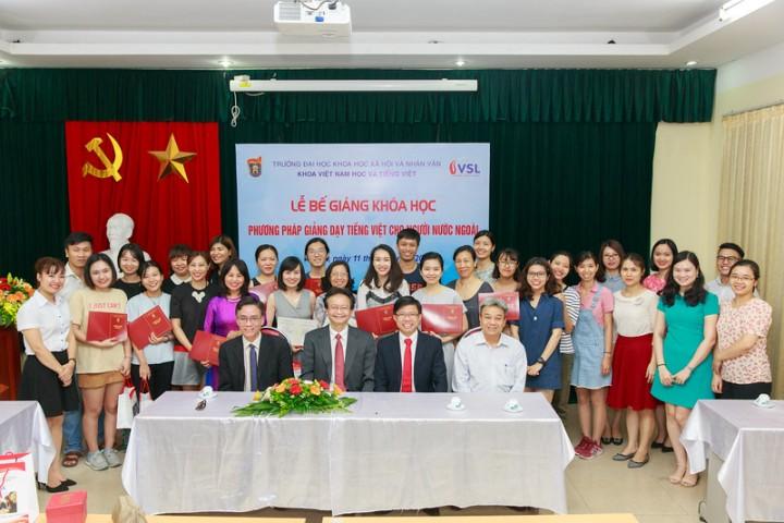 """THÔNG BÁO: Tuyển sinh lớp """"Phương pháp giảng dạy tiếng Việt cho người nước ngoài"""""""