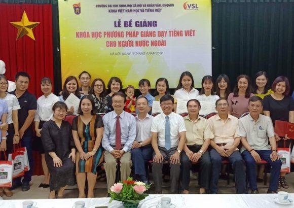 """THÔNG BÁO Tuyển sinh lớp """"Phương pháp giảng dạy tiếng Việt cho người nước ngoài"""""""
