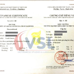 Thông báo Kỳ thi Năng lực tiếng Việt tháng 9