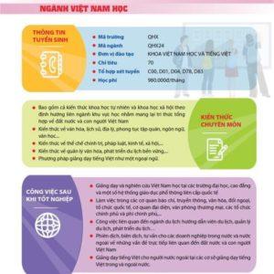 Ngành Việt Nam học